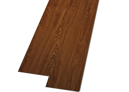 China Retro Wooden Look PVC Vinyl Sheet , Comfortable Touch PVC Plank Flooring supplier