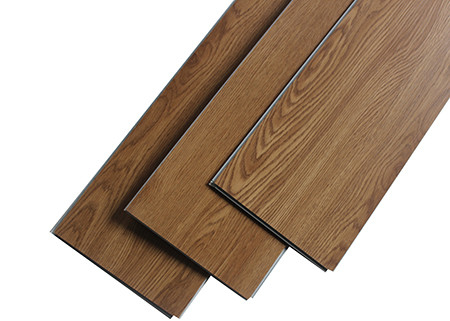 China SPC Rigid Click Dry Back Vinyl Plank Flooring Wood Texture With IXPE Foam supplier